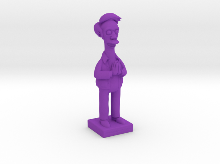 Apu from the Simpsons 3d printed