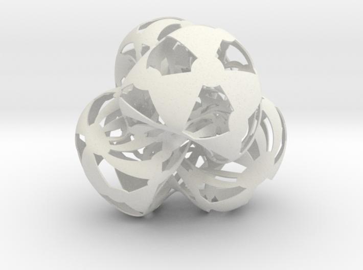Klein quartic 3d printed