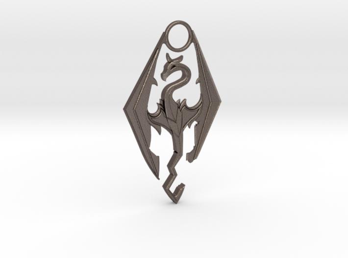 TES - Dragon Pendant 3d printed