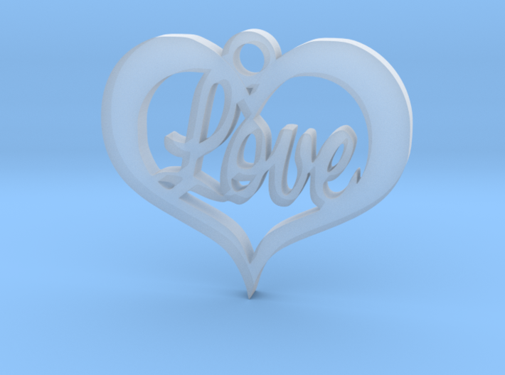 Love Heart 3d printed