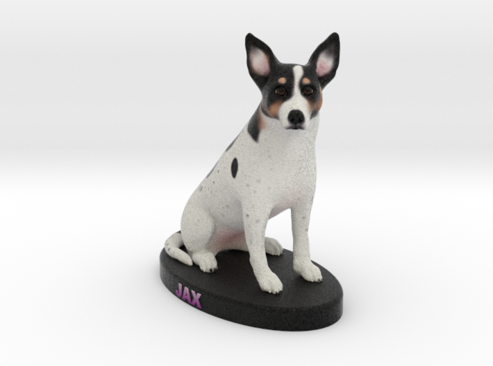 Custom Dog Figurine - Jax 3d printed