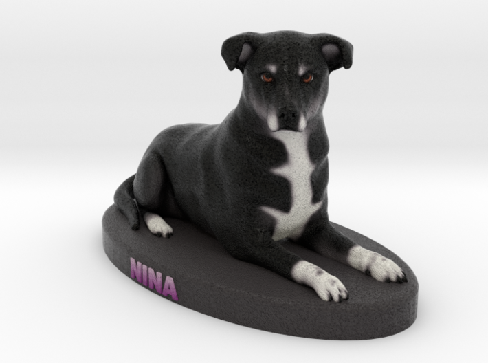 Custom Dog Figurine - Nina 3d printed
