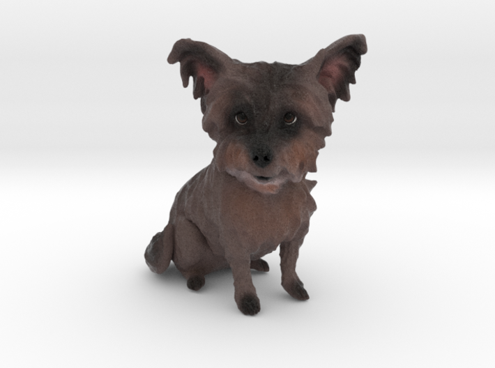 Custom Dog Figurine - Biscuit 3d printed