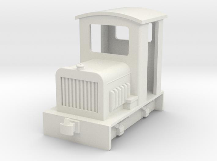 009 small diesel loco 1 3d printed