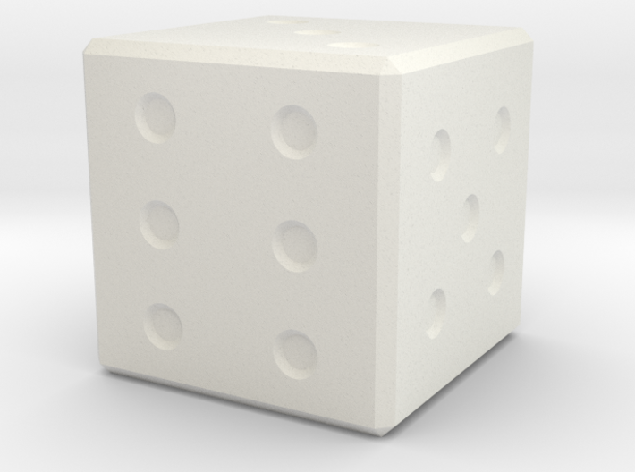6 Sided Dice 3d printed
