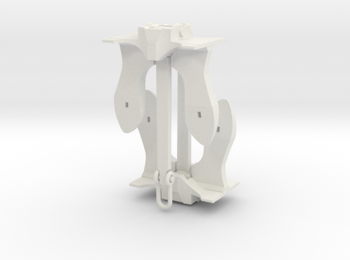3.5 inch height Navy Anchor 3d printed