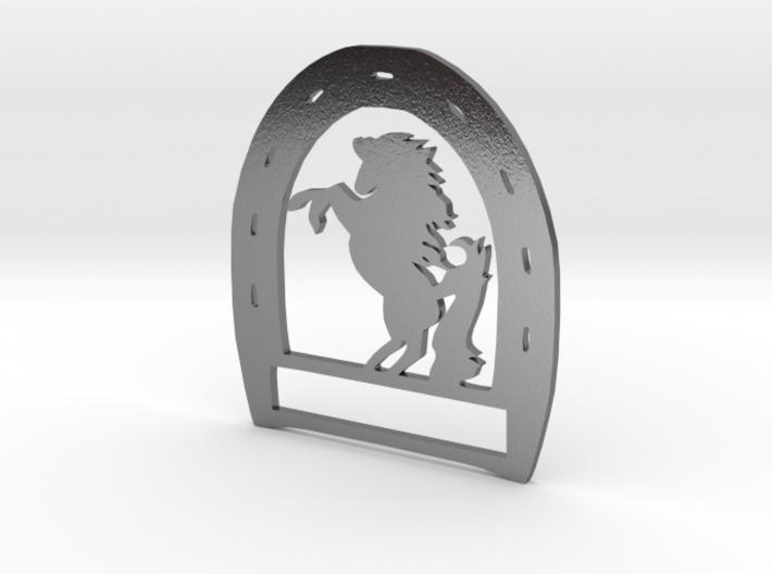 Horseshoe Pendant 3d printed