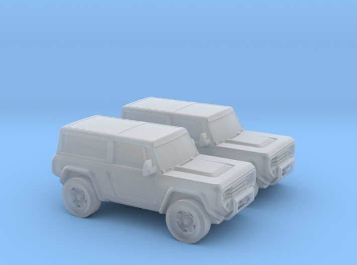 1/160 2X 2004 Ford Bronco Concept 3d printed