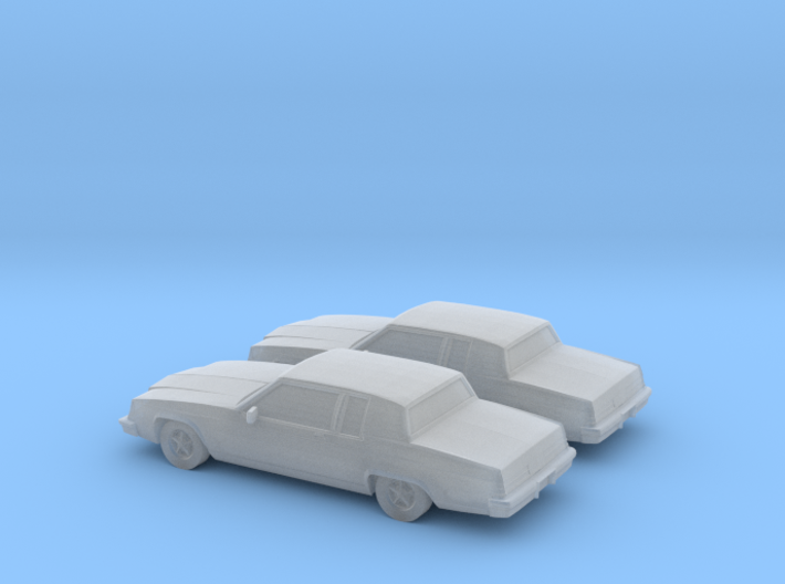 1/160 2X 1980 Buick Electra Coupe 3d printed