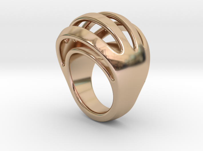 RING CRAZY 28 - ITALIAN SIZE 28 3d printed