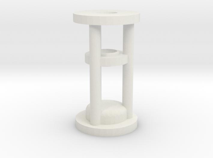 Lightsaber Crystal Chamber 3d printed
