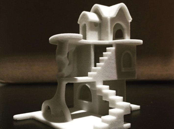 Fun House 3d printed