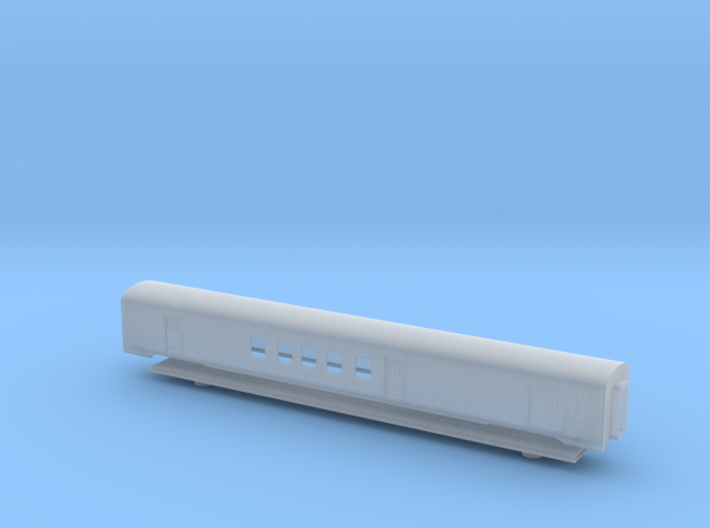 GN Lightweight Railway PostOffice - Zscale 3d printed