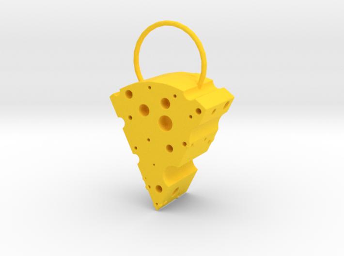 Cheese Locket 3d printed