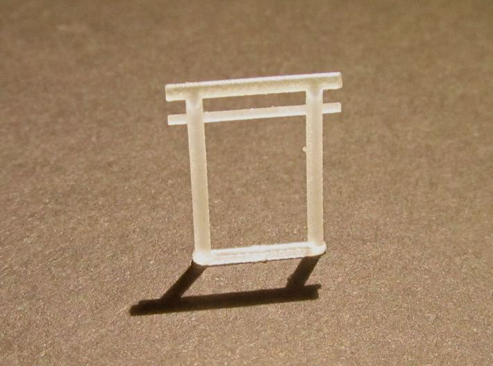 Torii all versions, small set 3d printed