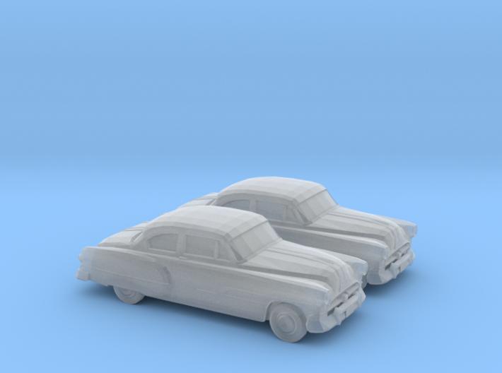 1/160 2X 1951 Pontiac Chieftan Coupe 3d printed