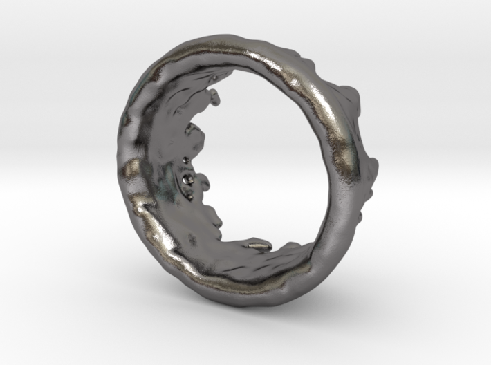 Ring Melting No.9 3d printed