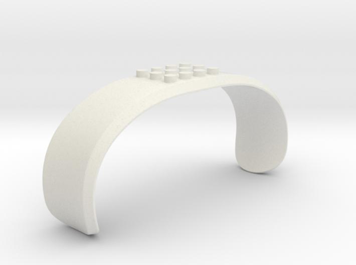 DJI Phantom - Snap Strap for Construction Blocks 3d printed