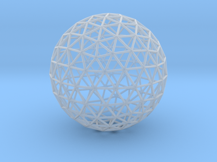 Geodesic Sphere 3d printed