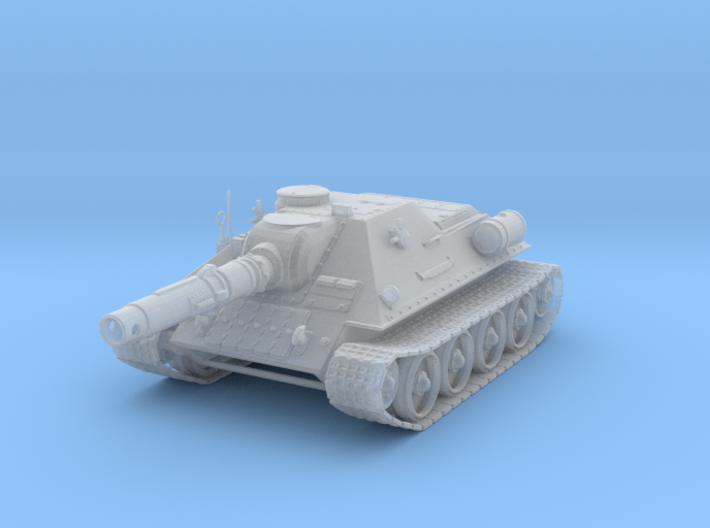 15mm Ice Guards SU-122M (fictional) 3d printed