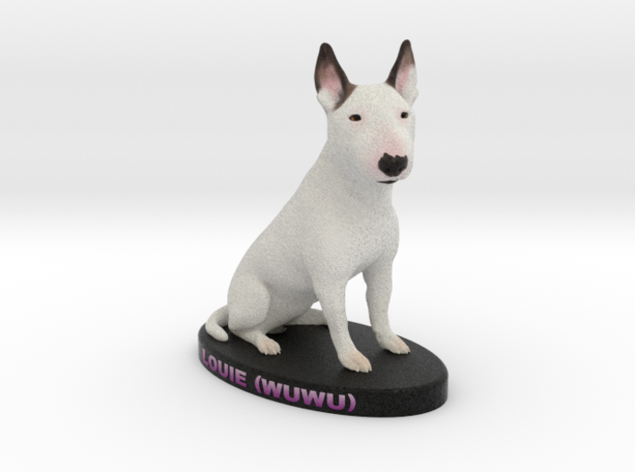 Custom Dog Figurine - Louie 3d printed