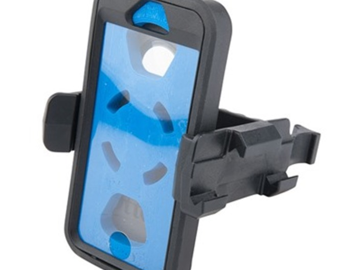 DJI Phantom - Snap Strap with Picatinny Rail 3d printed Example of a phone case with picatinny rail attachement