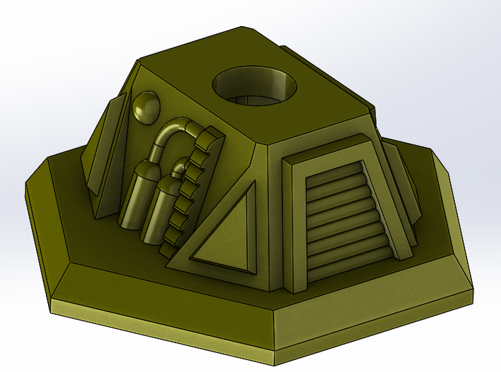 Turret Base 3d printed Add a caption...