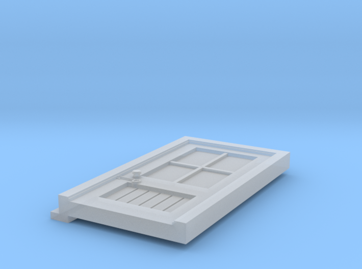 Signal Box Door HO - Southern Rail Models 3d printed