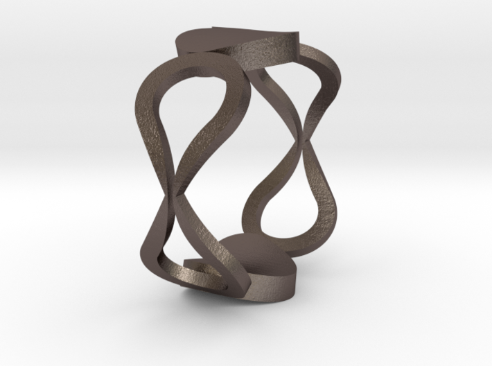 InfinityLove ring Size 60 3d printed