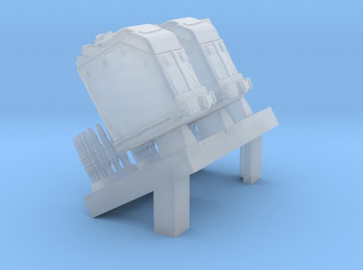 1/35 SPM-35-034 LBT MK48 Box Mag (middle) 3d printed