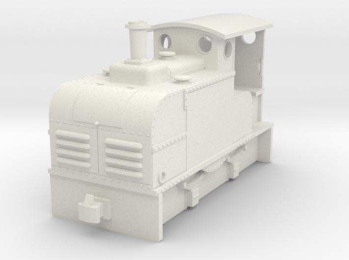 009 small Early IC loco Ruston Proctor 3d printed