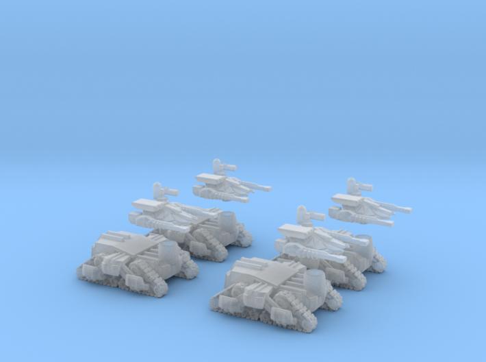 MOD S Mini Drone Transports Squad Of 4 3d printed