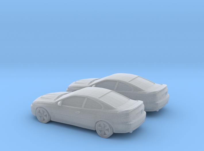 1/160 2X 2006 Pontiac GT 3d printed