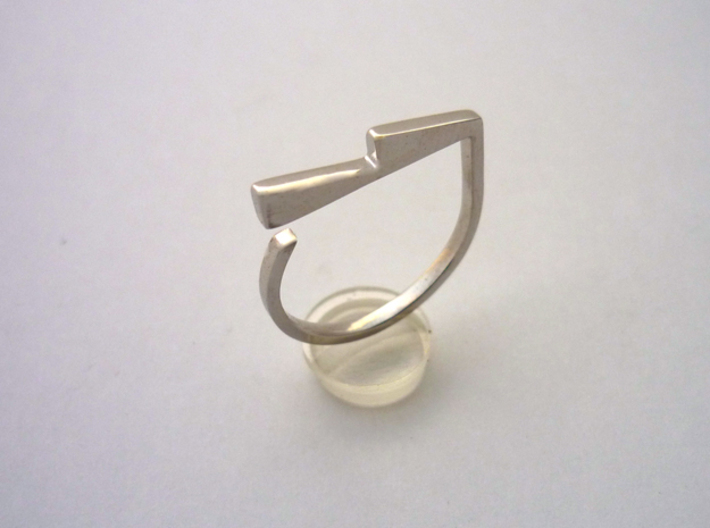 Adjustable ring. Basic model 6. 3d printed