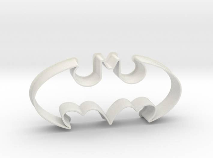 Batman 1998 - cookie cutter 3d printed