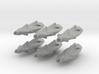 Illgari Templar Class Destroyer x6 3d printed