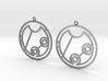Geneva - Earrings - Series 1 3d printed
