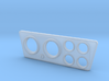SR40005 Beach Buggy Instrument Panel 3d printed