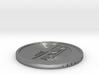 1 Lunaro coin 2015. 3d printed