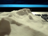 4'' Longs Peak Terrain Model, Colorado, USA 3d printed Cell phone photo of model, from near The Keyhole, inspired by guy on reddit