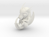 White Dragon Baby (to paint for yourself) 3d printed
