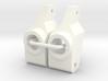 '91 Worlds Conversion - Rear Hubs 3.0 3d printed
