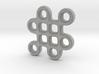 Mystic Knot Pendant 3d printed