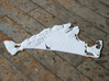 "Martha's Vineyard, MA, USA, 1:250000, 5'' 3d printed Photograph of larger, more detailed, 12"" model"