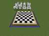 MineMen (chessmen for MineBoard) 3d printed