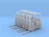 Yale Forklift (HO - 1:87) 3X 3d printed