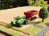 1:160/N-Scale Grain Cart On Tracks 1050 3d printed Add a caption...