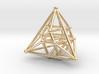 Hyper Tetrahedron Vector Net 33mm 3d printed