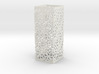 Lamp Square Column - Curved Star Pattern V2 3d printed