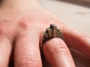 """Kriist"" Ring - Size Small 3d printed"